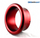 "Red Anodised Billet 5"" Turbo Trumpet"